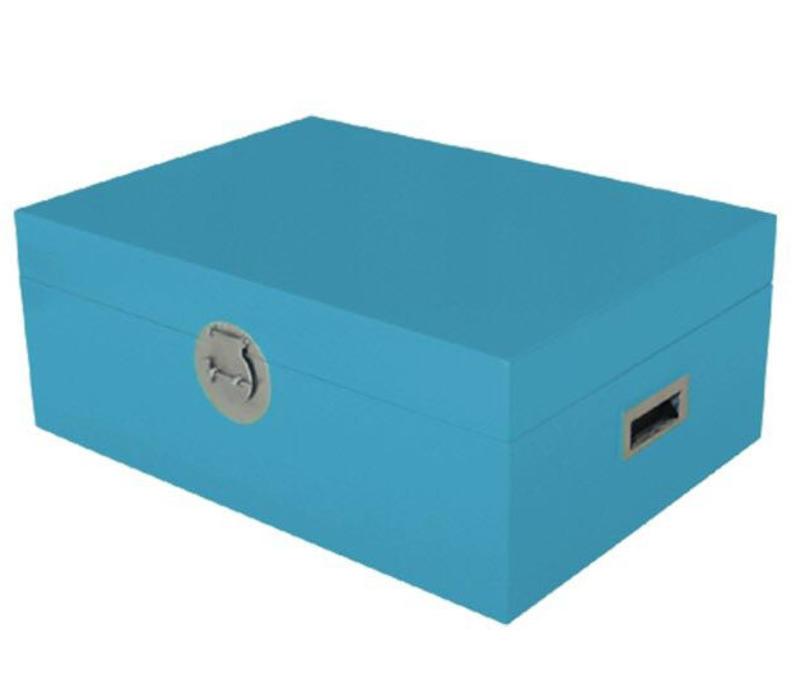 Fine Asianliving Thai Storage Box Blue
