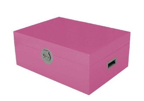 Fine Asianliving Caja Cofre de Almacenamiento Tailandés Rosa