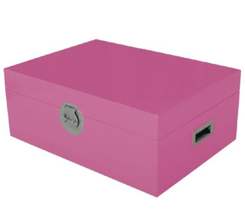 Fine Asianliving Thai Storage Box Pink