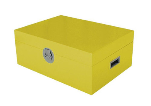 Fine Asianliving Thai Storage Box Yellow
