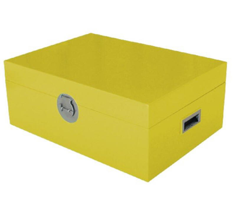 Fine Asianliving Thai Storage Box Jaune