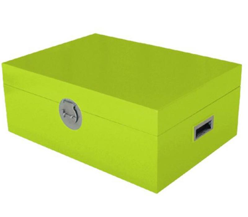 Caja Cofre de Almacenamiento Tailandés Verde