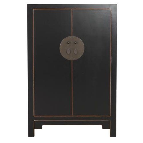 Chinese Opberg Cabinet Black