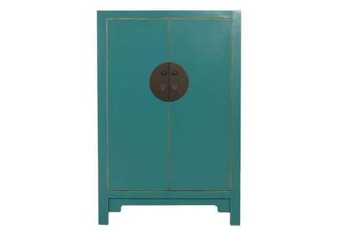 Fine Asianliving Chinese Opberg Kast Teal