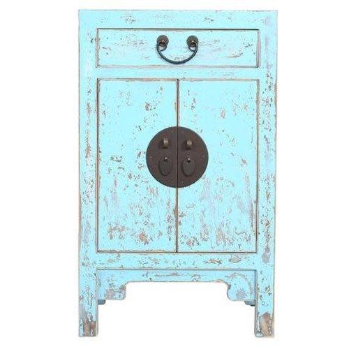 Chinese Cupboard Vintage Blue