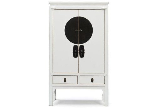 Fine Asianliving Chinese Bridal Cabinet White