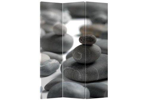 Fine Asianliving Fine Asianliving Kamerscherm Scheidingswand 3 Panelen Stenen