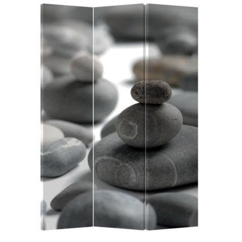Fine Asianliving Room Divider Privacy Screen 3 Panel Stones