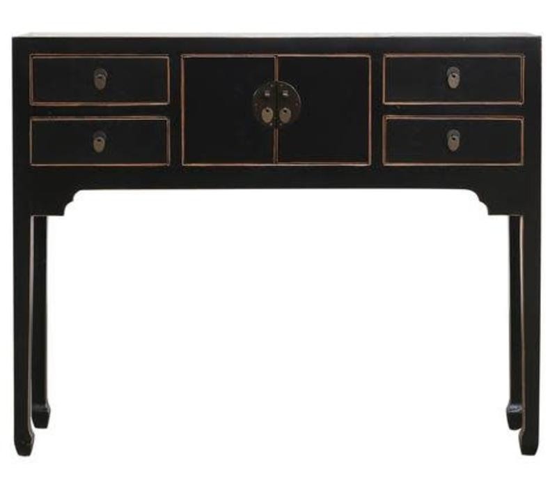 Fine Asianliving Chinese Sidetable Black