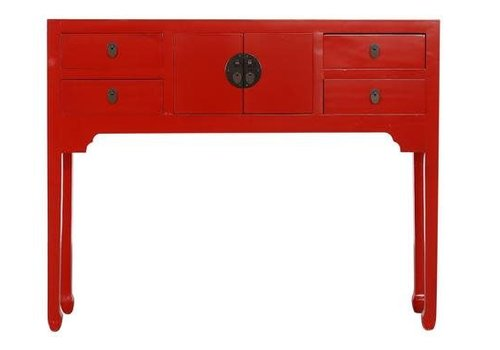 Fine Asianliving Fine Asianliving Chinese Console Table Hallway Table Sidetable Red