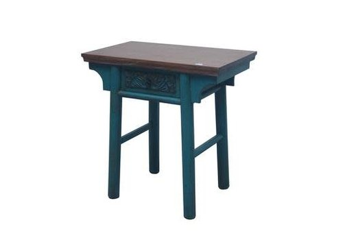 Fine Asianliving Chinese Sidetable Blauw