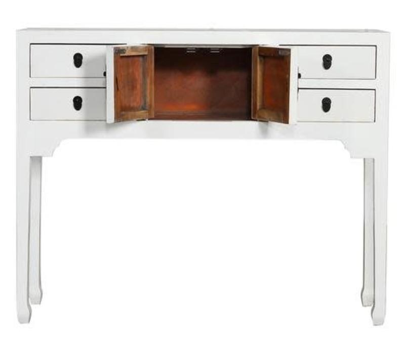 PREORDER Fine Asianliving Chinese Sidetable Wit