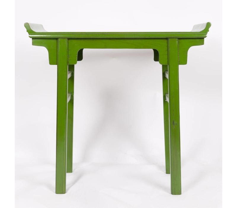Chinese Sidetable Bijzettafel - Groen