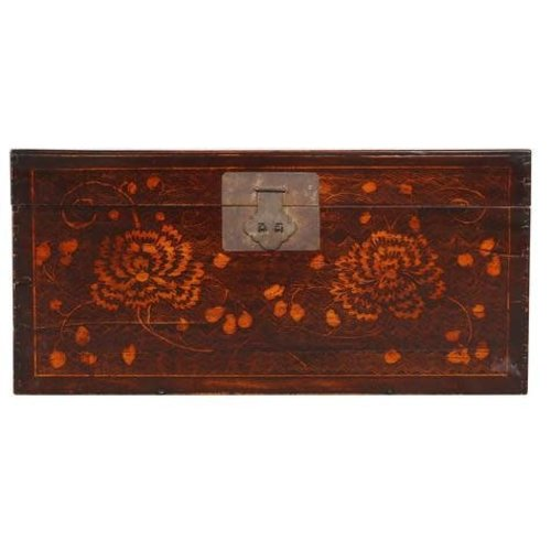 Fine Asianliving  Antique Chinese Storage Box