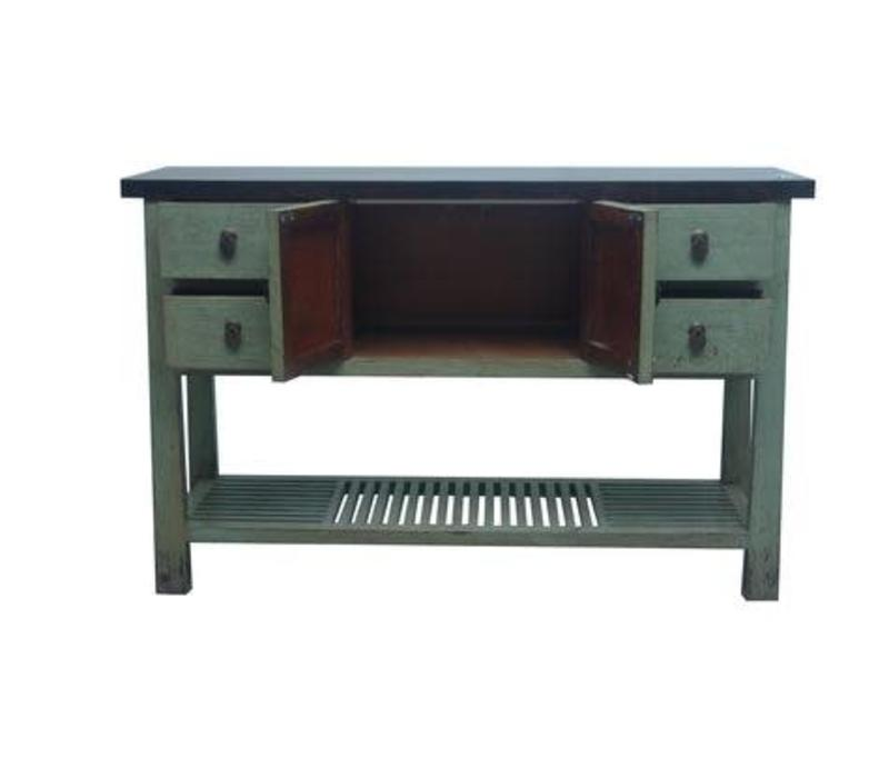 Fine Asianliving Chinese Sidetable Mint