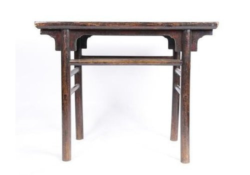 Fine Asianliving Antique Chinese Sidetable  High Brown