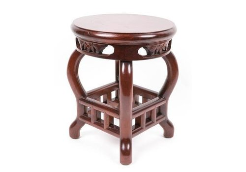 Fine Asianliving Chinese Stool Handcrafted
