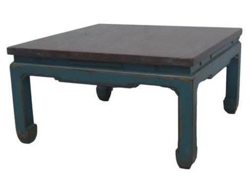 Fine Asianliving Chinese Salontafel Turquoise