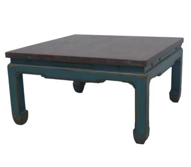 Fine Asianliving Chinese coffee table Turquoise