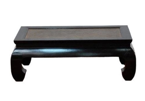 Fine Asianliving Chinese Salontafel Bamboe Hout Zwart