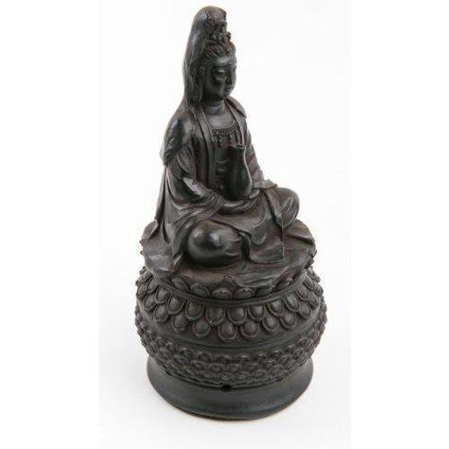 Guanyin Incense holder  Black