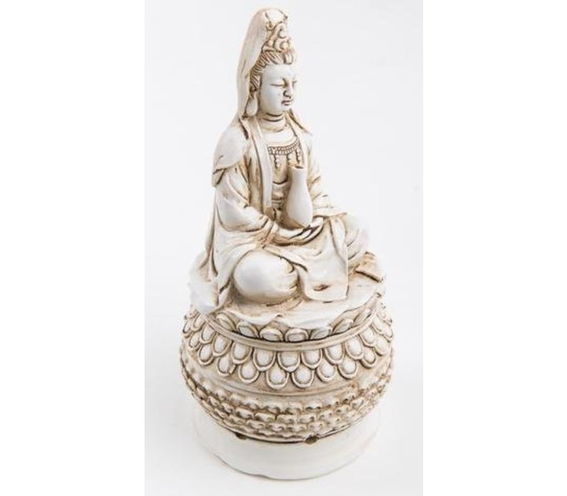 Guanyin Incense holder White