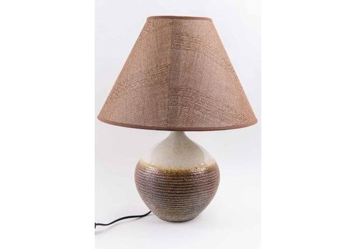 Fine Asianliving Chinese Tafellamp Bruin Naturel