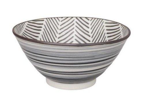 Fine Asianliving Herringbone Bowl 13x6.3 cm White