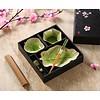 Fine Asianliving Chinese Tableware 5-delig Giftset Glassy Green Blad Porcelain