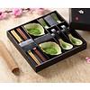 Fine Asianliving Chinees Servies 8-delig Giftset Glassy Green Lepels Porselein