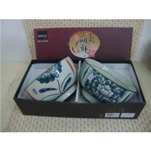 Korean Tableware Giftset 2 Bowls Porcelain BC