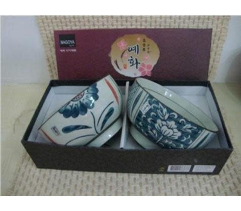 Korean Tableware Giftset 2 Bowls Porcelain BC