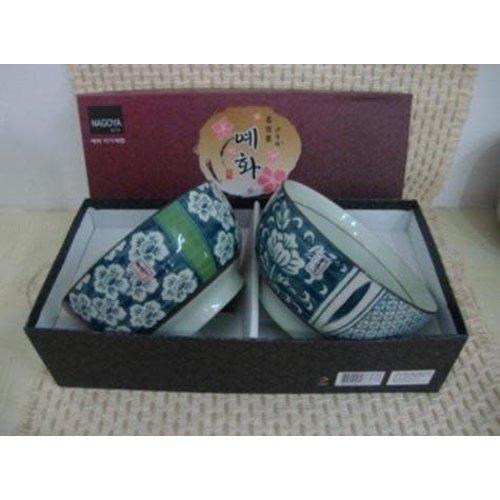 Koreaans Servies Giftbox Set/2 Kommen Porselein BE
