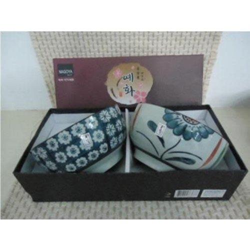Koreaans Servies Giftbox Set/2 Kommen Porselein CD