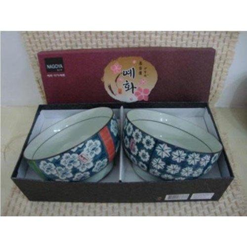 Koreaans Servies Giftbox Set/2 Kommen Porselein DE