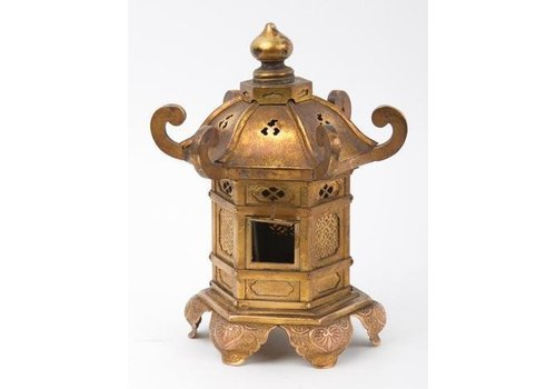 Fine Asianliving Antique Traditionele Japanese Toren