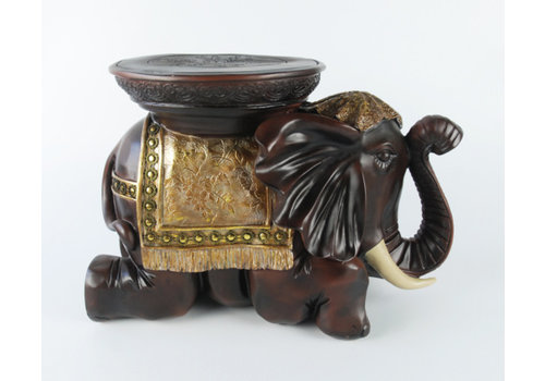 Fine Asianliving Fine Asianliving Elephant Stool Decoration