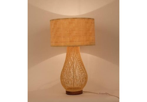 Fine Asianliving Fine Asianliving Bamboo Table Lamp Handmade - Justin