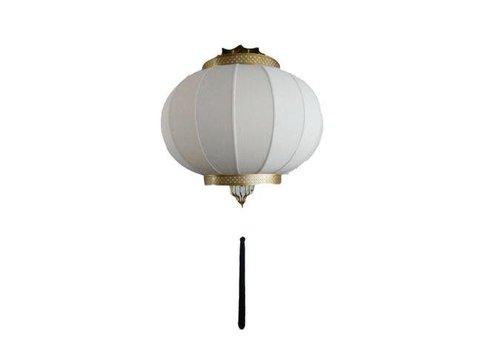 Fine Asianliving Chinese Hanglamp Metaal Beige en Goud
