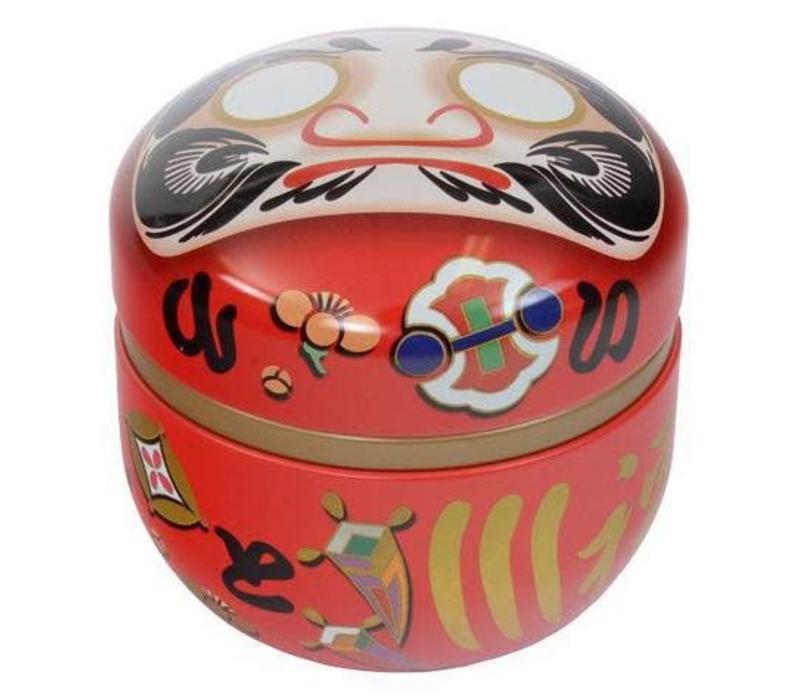 Japanese Teabus Daruma Red
