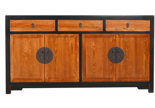 Fine Asianliving Chinese Sideboard Natural Solid Yuwood