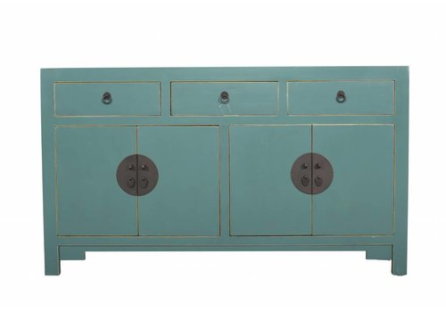Fine Asianliving Chinese Sideboard Medium Teal