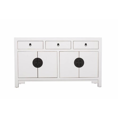 Fine Asianliving  Chinees Dressoir Middel Wit