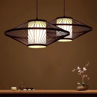 Fine Asianliving Bamboe Hanglamp Handgemaakt - Damian