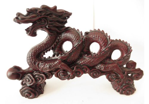 Fine Asianliving Chinese Dragon Red XL