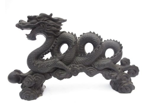 Fine Asianliving Chinese Dragon Black XL