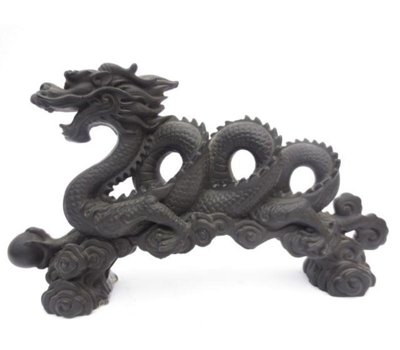 Chinese Draak Zwart XL