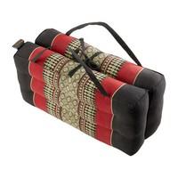 Thai Cushion Yoga Mat Foldable Handmade Red
