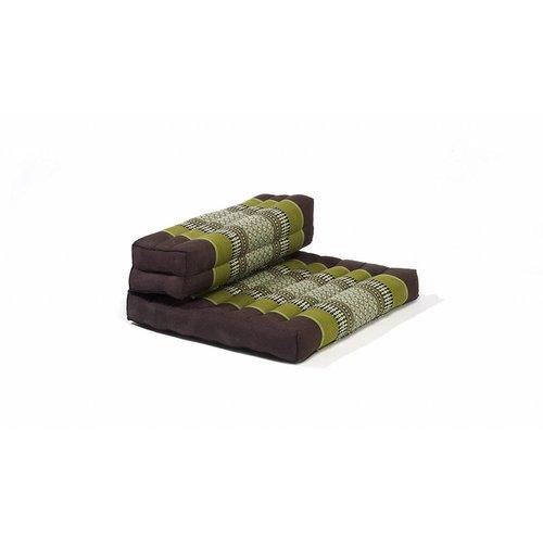 Thai Cushion Meditation Mat Foldable 50x75x12cm Green
