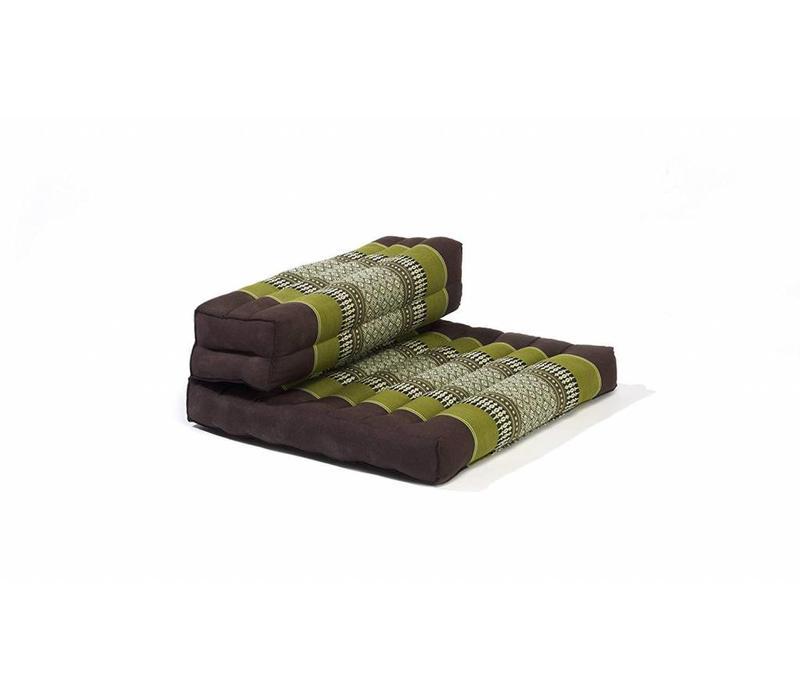 Meditationseat Double Folded Green 50x75x12 cm
